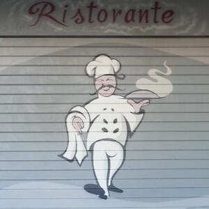 Urban decorations decorazione serrande roma milano e for Ristorante murales milano