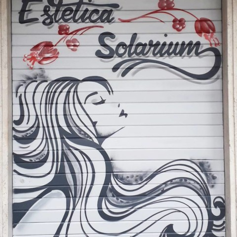 decorazione-serrande-roma-centro-estetico-solarium